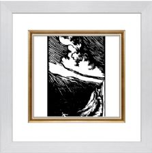 Nightmare or Cauchmar or Flight - Ready Framed